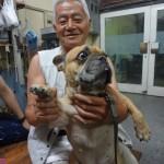 祇園はやしのBOSSと愛犬